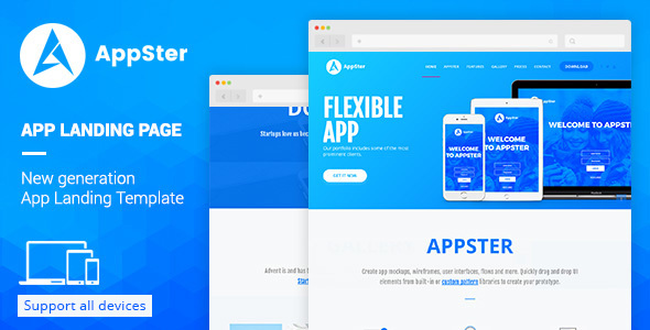 Demo - Appster - Landing Page Muse Template