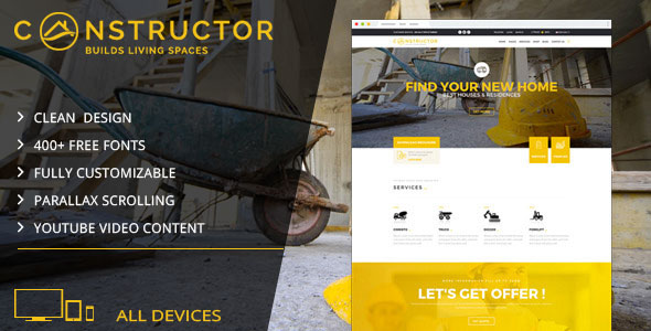 Demo - Constructor | Building Company Muse Template