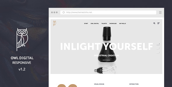 Demo - OWL Digital Responsive - Creative Agency Muse Template