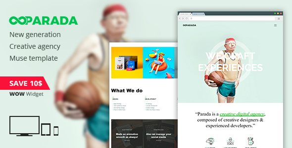 Demo - Parada | Creative Agency Muse Template