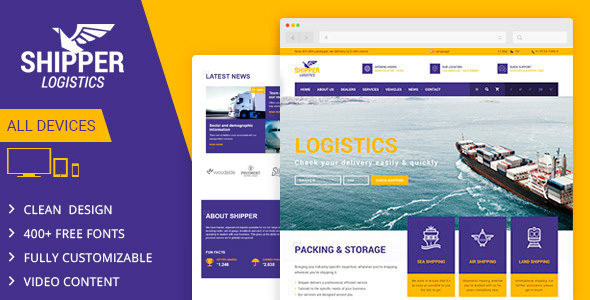 Demo - Shipper Logistic - Transportation Muse Template