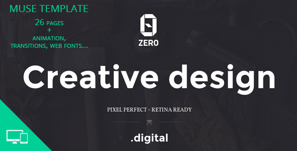 Demo - ZER0 - Creative Agency Muse Template